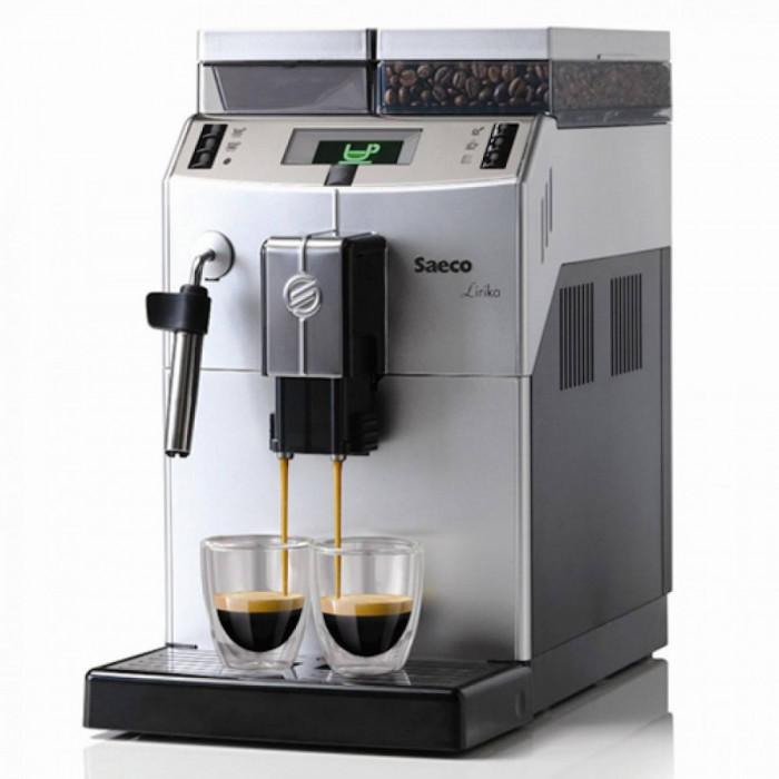 Espressor automat cafea Philips Saeco Lirika Plus, 1850 W, 15 bari, Argintiu / Negru