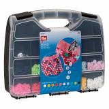 Cumpara ieftin Set 300 capse plastic PRYM Color Snaps diametru 12,4 mm si poanson 12,4 mm