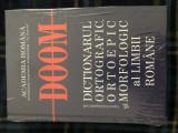 Dictionarul ortografic, ortoepic si morfologic al limbii romane (DOOM), in tipla, Univers Enciclopedic