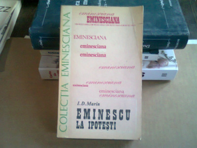 EMINESCU LA IPOTESTI - I.D. MARIN foto
