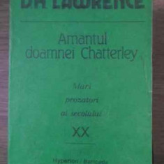 AMANTUL DOAMNEI CHATTERLEY-D.H. LAWRENCE
