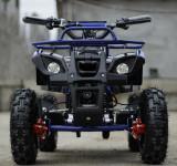 Mini ATV electric pentru copii NITRO Torino 1000W 48V Deluxe #Albastru, Yamaha