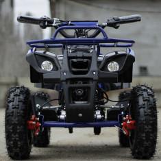 Mini ATV electric pentru copii NITRO Torino 1000W 48V Deluxe #Albastru