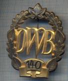 "AX 227 INSIGNA -TURISM MONTAN - DRUMETIE - ,,DWB"" 140 -FRUMOASA"