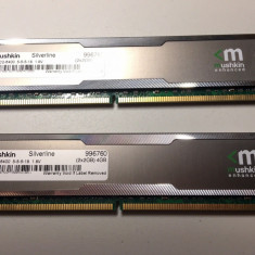 Memorie Ram 4GB DDR2 radiator Kit (2 x 2GB ) Mushkin Silverline 996760