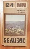 Semenic de Mihai Grigore + harta. Colectia Muntii Nostri