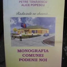 MONOGRAFIA COMUNEI PODENII NOI - PETRE TANASESCU