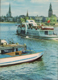 "Carte Postala - Riga Daugava ""CP16"", Necirculata, Fotografie"