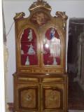 vitrina/bufet/credenza pictata,baroc venetian,vintage/antic,Italia