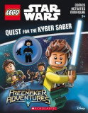 Quest for the Kyber Saber (Lego Star Wars; Activity Book with Minifigure) [With Minifigure]