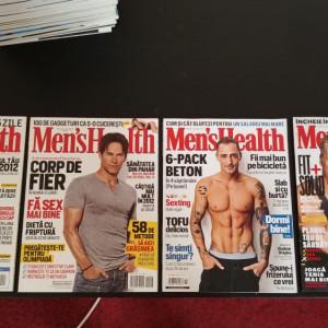 Colectie completa Men's Health Romania 2012-2018