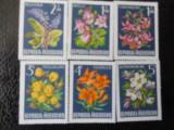 Serie timbre flora flori plante Austria nestampilate timbre filatelice postale