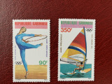 Gabon - Timbre sport, jocurile olimpice 1984, nestampilate MNH, Nestampilat
