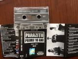 Parazitii primii 10 ani vol. 2 1994-2004 caseta audio muzica hip hop rap NRG!A, Casete audio