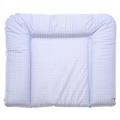 Saltea de Infasat Easysoft Carouri Albastra 85 x 75 cm