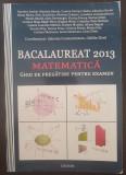 BACALAUREAT 2013 MATEMATICA GHID DE PREGATIRE -Constantinescu,  Zirna
