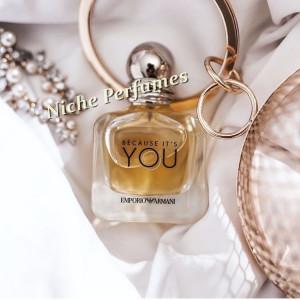 Parfum Original Tester Emporio Armani Because It's You Giorgio Armani