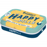 Cutie metalica cu bomboane - Happy Pills