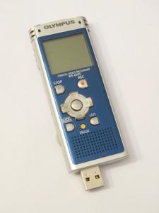 Reportofon digital stereo Olympus WS-650S 2 Gb cu ecran iluminat si difuzor USB