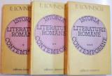 ISTORIA LITERATURII ROMANE CONTEMPORANE de E. LOVINESCU , VOL I-III , 1981