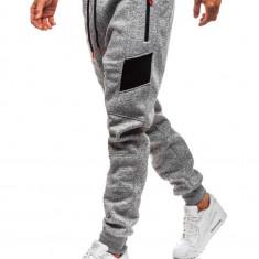 Pantaloni de trening bărbați gri Bolf TC840