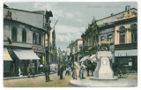 3906 - BUCURESTI, Lipscani street, Romania - old postcard - used - 1911