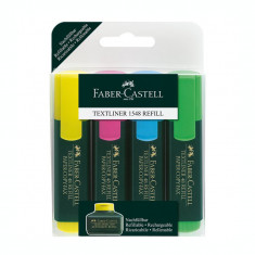 Set textmarker Faber Castell 4/set