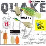 Spinnerbait Herakles Quake, Orange/Brown, 42g