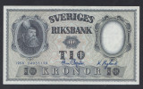 A5167 Sweden Suedia 10 kronor 1958 SEMNATURI DIFERITE UNC