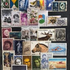 5917 - lot timbre Romania