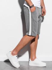 Pantaloni scurti barbati W241 - gri-inchis foto