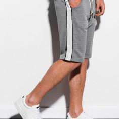 Pantaloni scurti barbati W241 - gri-inchis