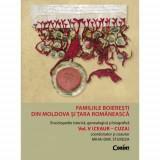 Familiile boieresti din Moldova si Tara Romaneasca - vol.5 (Ceaur - Cuza) | Mihai Dim. Sturdza, Corint