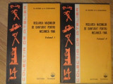 REGLAREA MASINILOR DE DANTURAT PENTRU MECANICA FINA VOL 1-2-M. AELENEI, R. CONSTANTIN