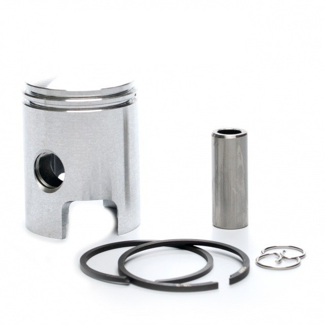 Kit Piston + Segmenti Scuter Moped Piaggio - Piagio Ciao 38.2mm - bolt 12mm