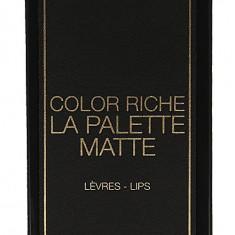 Paleta 6 rujuri L'Oreal Paris Color Riche La Palette Matte Nude, 6g