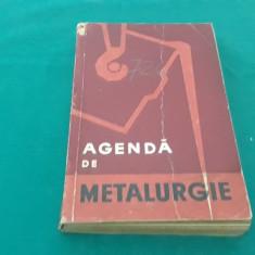 AGENDĂ DE METALURGIE/ 1959