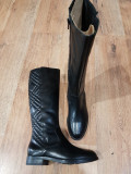 LICHIDARE STOC! Superbe cizme dama noi piele naturala integral foarte comode 38