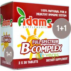Pachet 1+1 B-Complex 30cpr