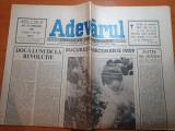 ziarul adevarul 22 februarie 1990-doua luni de la revolutie,art.despre revolutie