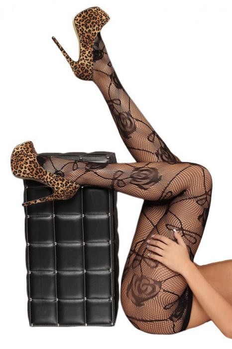 STK168-1 Ciorapi sexy din plasa cu model