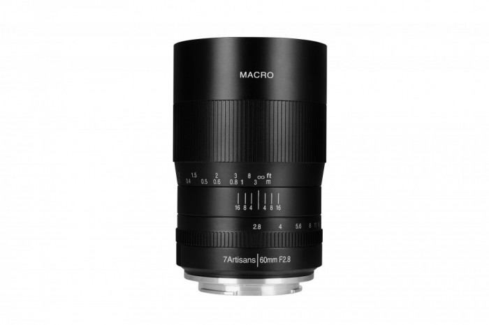 Obiectiv Manual 7Artisans Macro 60mm f/2.8 pentru FujiFilm Fx