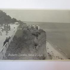 Basarabia-Budachi Cordon(Cetatea Alba):Plaja si faleza,carte post.foto circ.1937