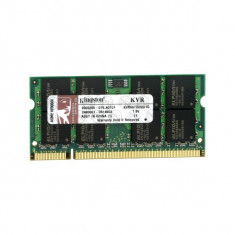 Memorie laptop Kingston 1GB DDR2 KVR800D2S6/1G