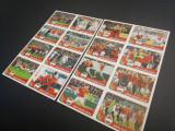 Set complet de extrastickere D1 – D16 din colectia Panini Euro 2016 Franta