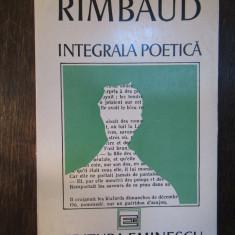 RIMBAUD-INTEGRALA POETICA