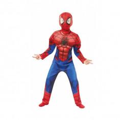 Costum Deluxe Spiderman cu muschi Marvel S 3 4 ani 104 cm