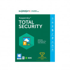Kaspersky Total Security 2019, 5 Dispozitive, 2 Ani, Licenta Reinnoire Electronica
