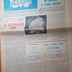 Ziarul magazin 6 septembrie 1980-art. despre ivan patzaichin de adrian paunescu