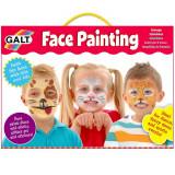 Set creativ pentru pictura pe fata Galt, 7 vopsele,5 ani+